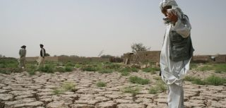 The drought in Jawzjan province of northern Afghanistan has made the land unfarmable