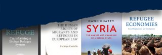 Topics include Syria, EU asylum law and policy, refugee economies, the refugee system, and self-reliance