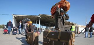 In the first 10 days of the crisis, some 70,000 people in Libya fled to Tunisia to escape violence