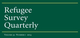 Special issue of refugee survey quarterly brings together papers from rscs 30th anniversary conference