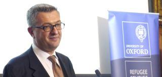 Filippo Grandi delivers the Annual Harrell-Bond Lecture at The Examination Schools, University of Oxford