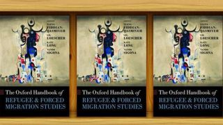 Oxford Handbook of Refugee and Forced Migration Studies now available!
