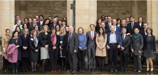 Event participants at All Souls College