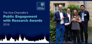 Vice chancellor2019s award for public engagement with research hip team