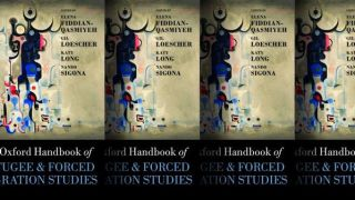 Out in paperback! The Oxford Handbook of Refugee & Forced Migration Studies
