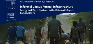 Research in brief informal versus formal infrastructure 1