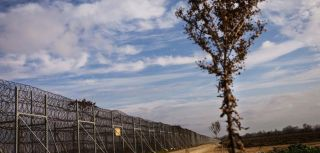 The Evros fence, built in 2012 by the Greek government in order to deter human trafficking gangs from sending refugees and migrants across the border from Turkey