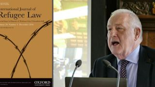 Special issue of the International Journal of Refugee Law in honour of Professor Guy S Goodwin-Gill