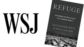 The Wall Street Journal reviews 'Refuge'