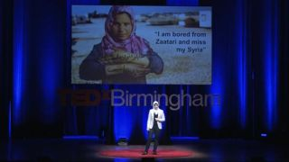 Refugees struggle with the same things we do | Dunya Habash, MSc student