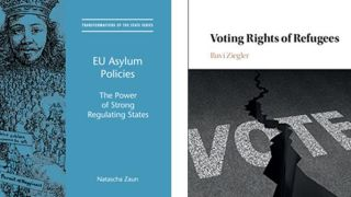New books out this month on EU asylum policies, and the voting rights of refugees