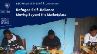 New Research in Brief on refugee self-reliance