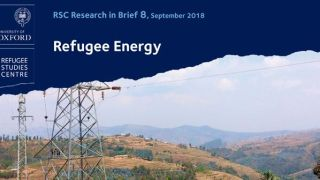 New Research in Brief on Refugee Energy