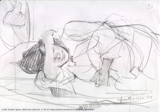 2018 07 02_pain for ethicisits 1_credit heather spears labour and birth pencil drawing wellcome collection cc by 4 0.png