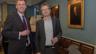 Andrew blackford and simon lord become the first against breast cancer research fellows at oriel college