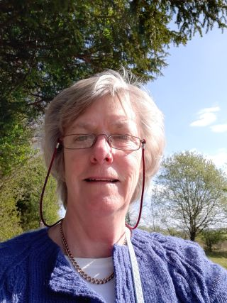Photograph of Sally Harbourne, who volunteered for the NTAD study.
