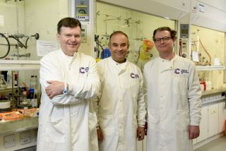 Prof peter mchugh awarded cruk grant
