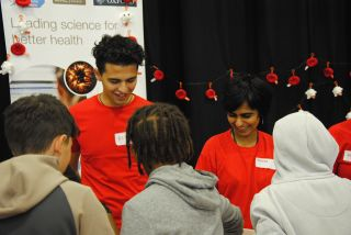 MRC WIMM researchers engage the public on the science of blood at the Oxford Science and Ideas Festival 2018
