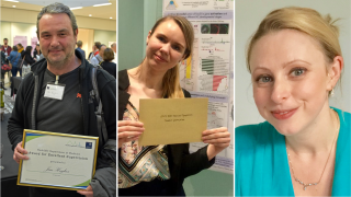 Congratulations to Jim, Martyna and Louise, who were the recipients of awards at the Radcliffe Department of Medicine Annual Symposium