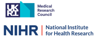 Logos of the Medical Research Council and National Institute for Health Research