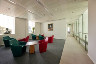 Common room and collaboration space