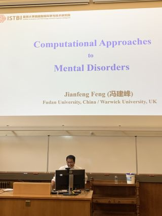 Slide reads Computational Approaches to Mental Disorders