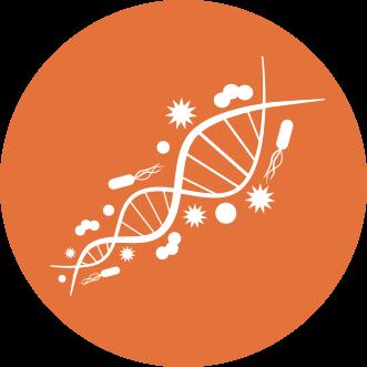 Metagenomics graphic