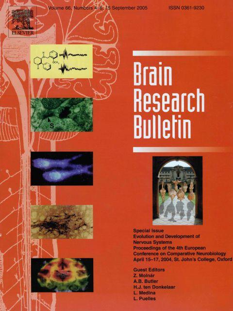 Brain Research Bulletin vol 66 2005.jpg