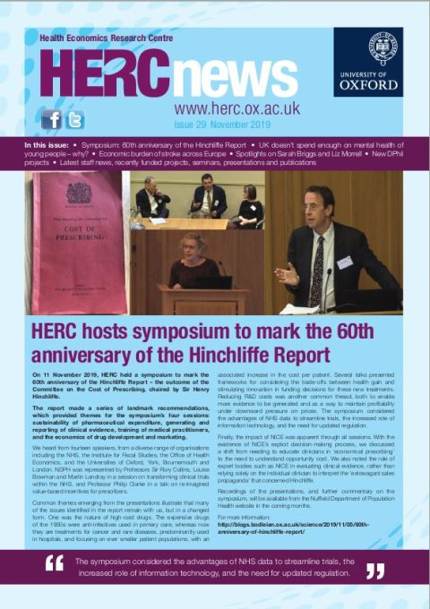 The November 2019 edition of the HERC newsletter is now available.