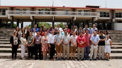 Genomics workshop group photo