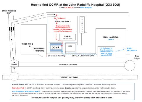 OCMR Map