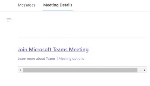 Teams meeting invite