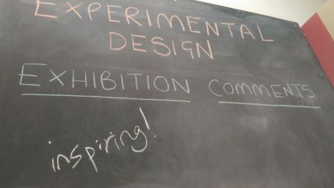 Exhibition comment board