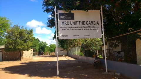 MRC unit the Gambia