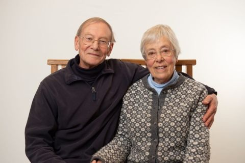Hilary Brown and husband Michael
