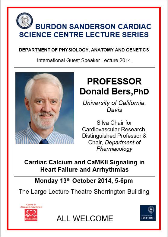 Seminar Donald Bers