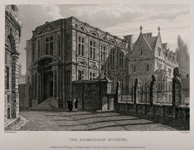 Engraving of the Ashmolean Museum