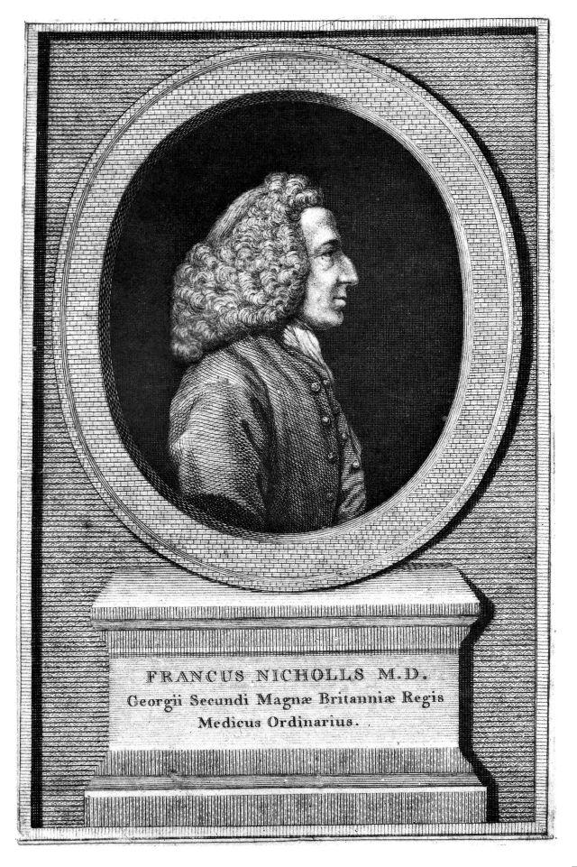 Portrait of Frank Nicholls