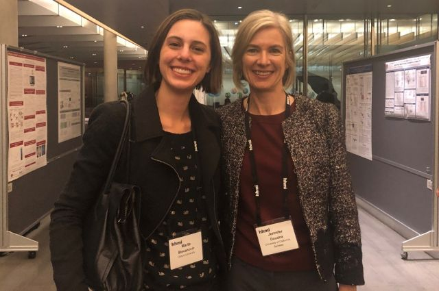 Marta Stevanovic and Jennifer Doudna 2018