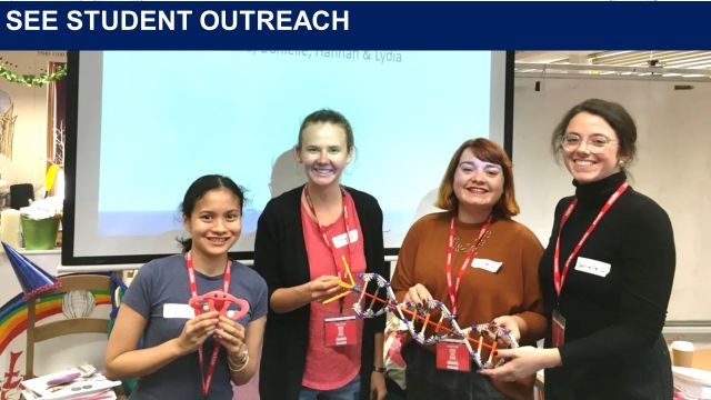 DPhil students from our Endometriosis research group, delivered a thought provoking and popular workshop to year 7 and 8 students at the Cheney School in Oxford, as part of a