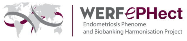 Logo of the World Endometriosis Research Foundation (WERF) Endometriosis Phenome and Biobanking Harmonisation Project (EPHect).