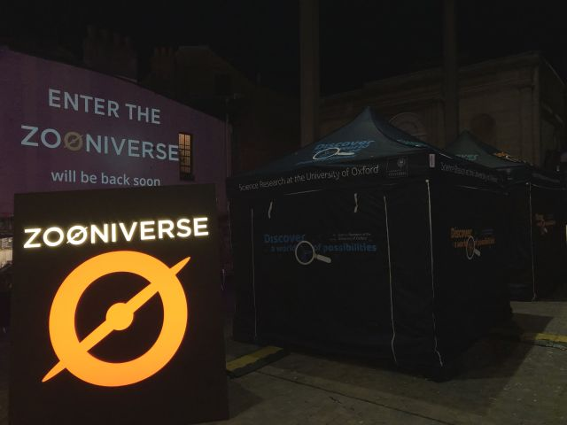 Enter the Zooniverse on Bonn Sq