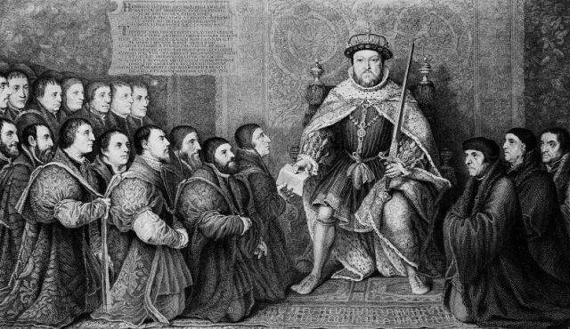 Henry VIII grants barber-surgeons their charter