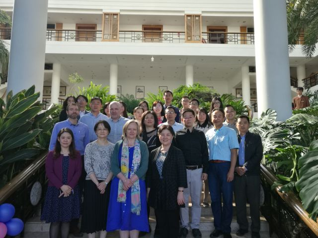 Group photo from Kunming in 2018