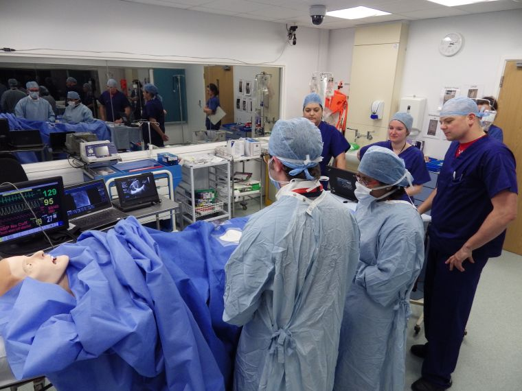 Oxstar runs first human factors simulation for the cardiac angiography suite