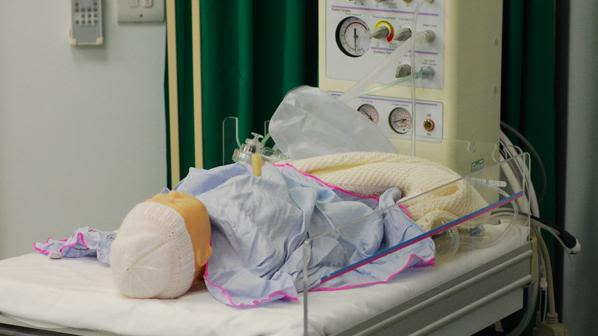 We run courses within paediatric care environments.