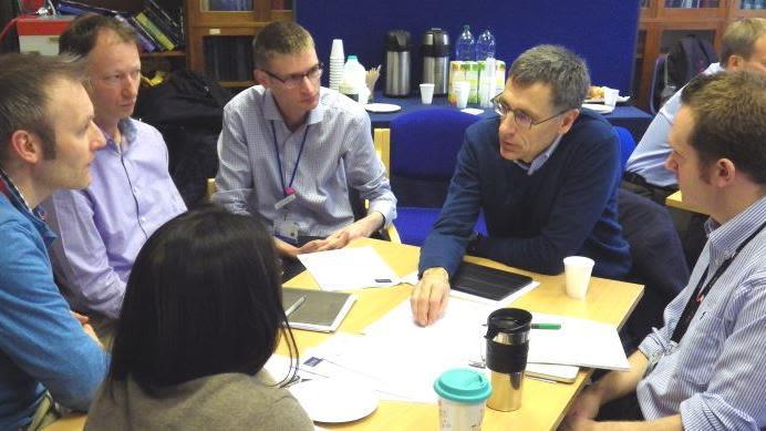 We help senior healthcare staff develop leadership skills.