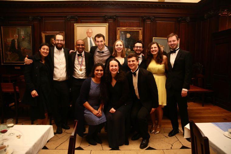 Group of people in black tie