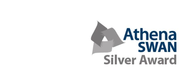 Anthena SWAN Silver Award
