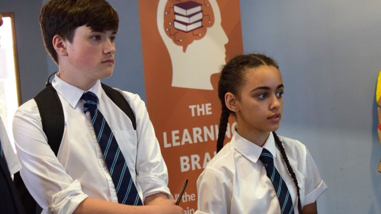 Pupils at st gregory the great take part in the big brain roadshow